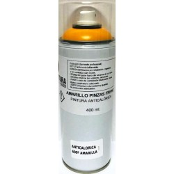 SPRAY AMARILLO PINZAS FRENO