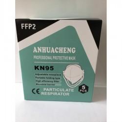 Mascarillas FFP2 KN95 Caja 5 unidades